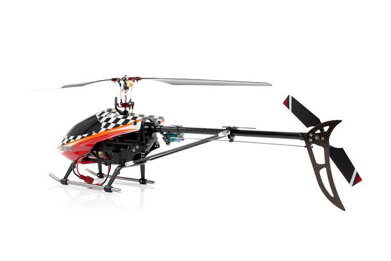 радиоуправляемый вертолет с гироскопом
