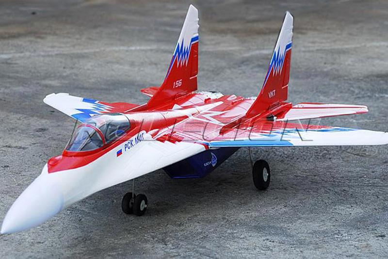 радиоуправляемый самолет MIG29RTF