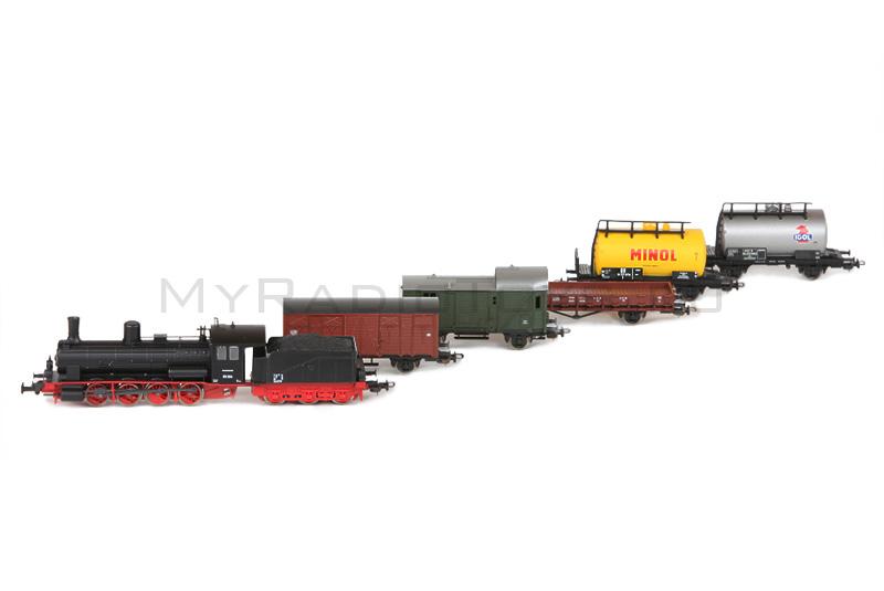 стартовый набор железной дороги