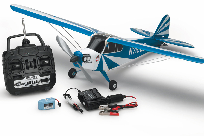 Модель самолета Kyosho «Clipped Wing Cub M24 Blue»