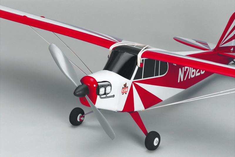 Модель самолета Kyosho «Clipped Wing Cub M24 Red»