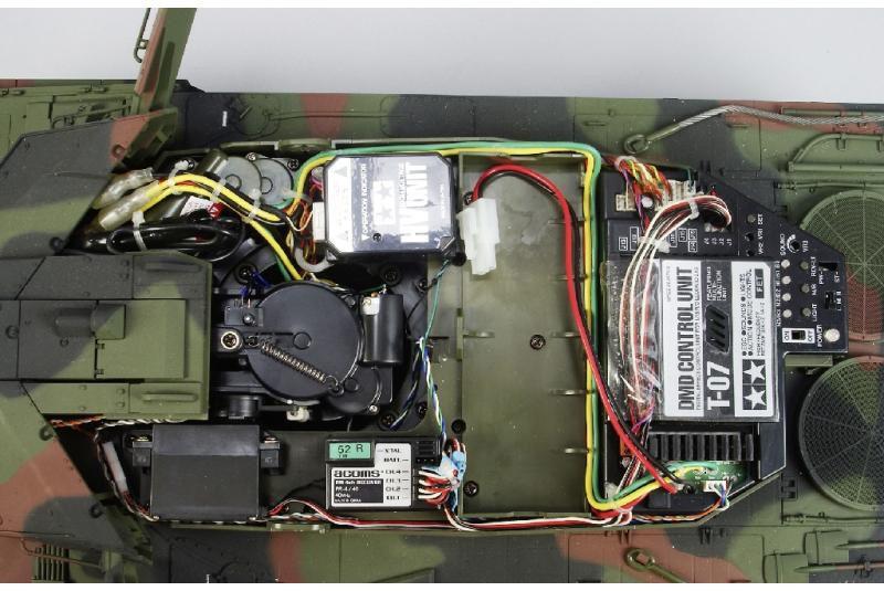 Радиоуправляемый танк Tamiya «