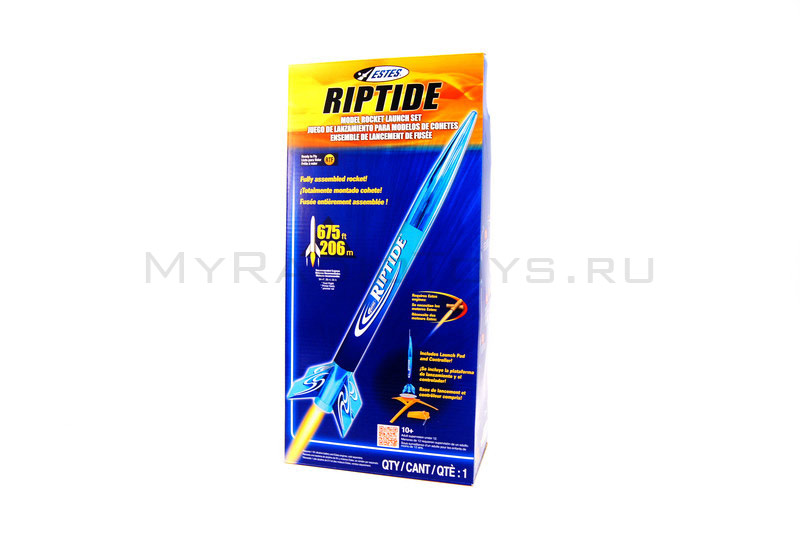 Модель ракеты «Launch set riptide rtf»