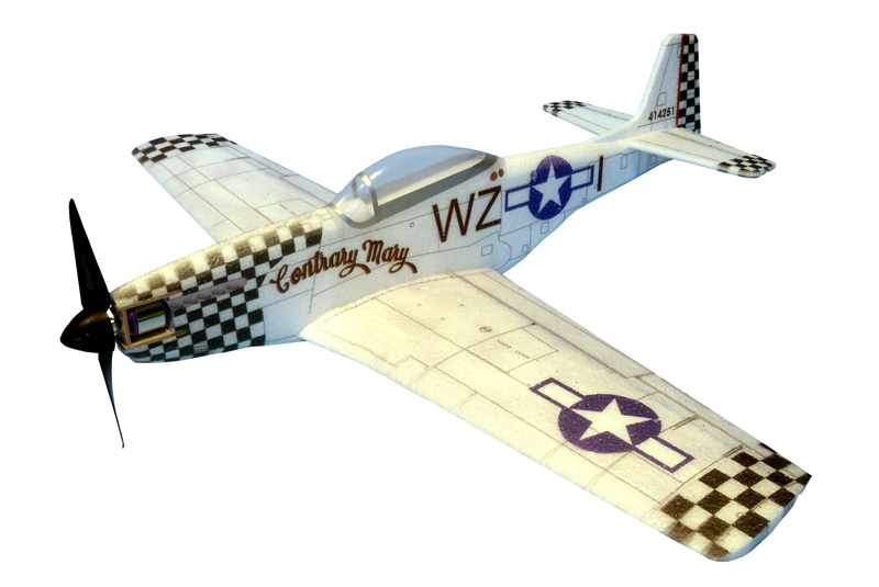 Радиоуправляемый самолет Hacker Model P 51-D Mustang Contrary Mary ARF HC1308B