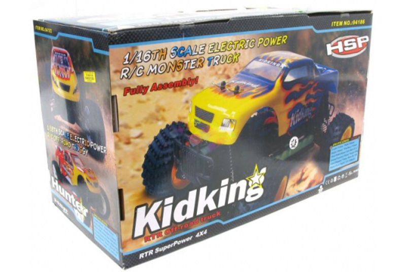 KIDKING116 EP TruckWNi-Mh 7.2V 1100mAh BatteryW CE ChargerW2.4Ghz Transmitter80226G