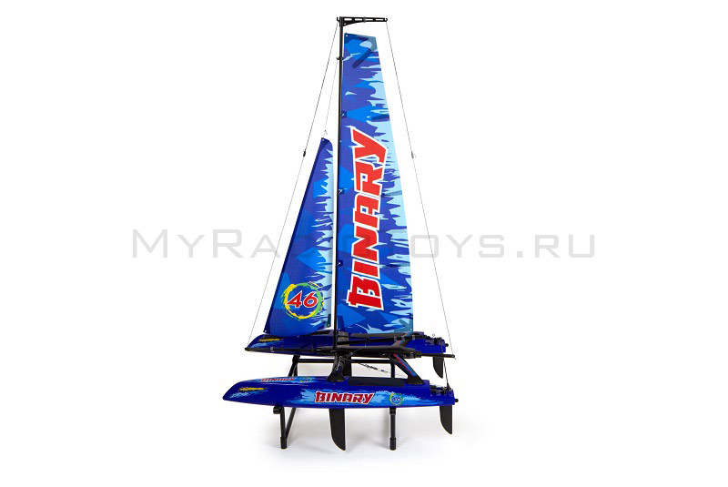 Модель яхты «Binary catamaran yacht rtr 2.4ghz»