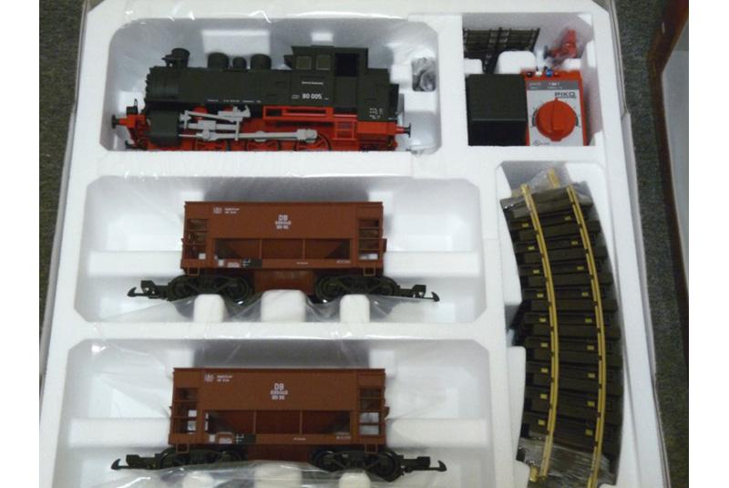 """Стартовый набор железной дороги Piko  """"Грузовой поезд DB """" ."""